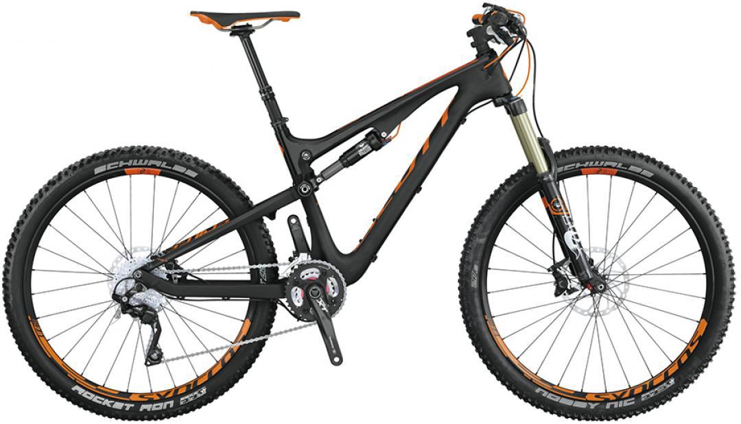 Велосипед горный Scott Genius 710 2015, двухподвесный, цвет: черный, рама 18, колесо 27,5253393