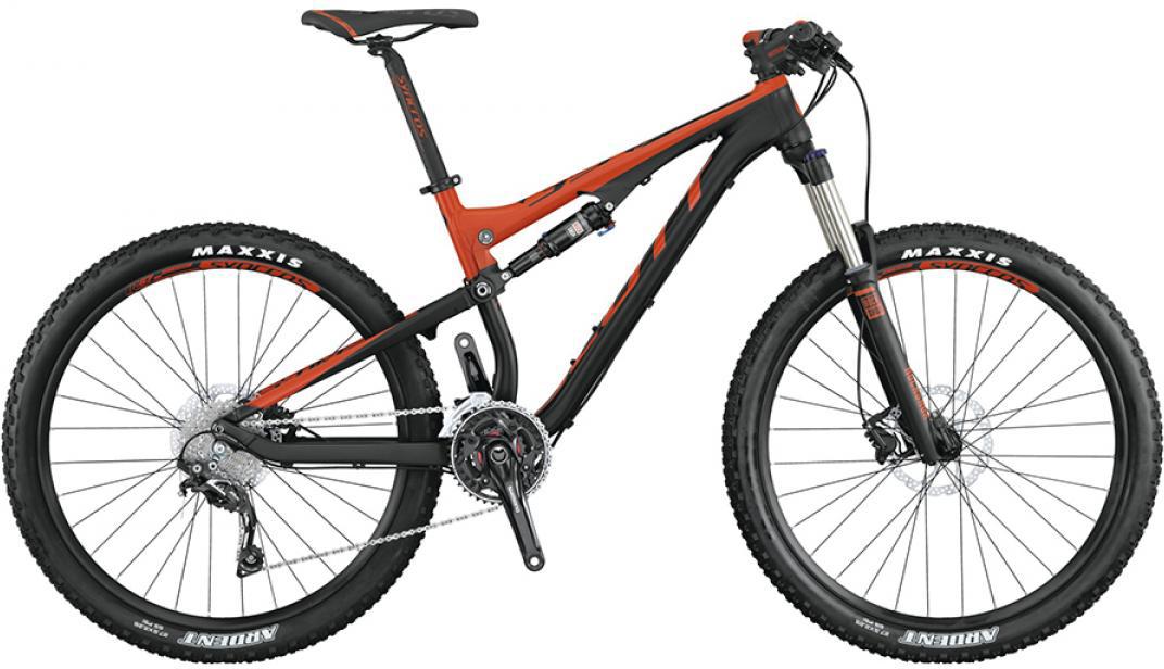 Велосипед горный Scott Genius 750 2015, двухподвесный, цвет: черный, рама 20, колесо 27,5253409