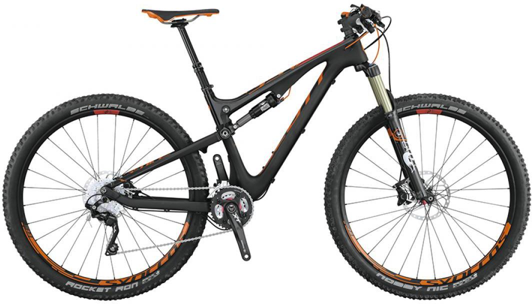 Велосипед горный Scott Genius 910 2015, двухподвесный, цвет: черный, рама 16, колесо 29253415