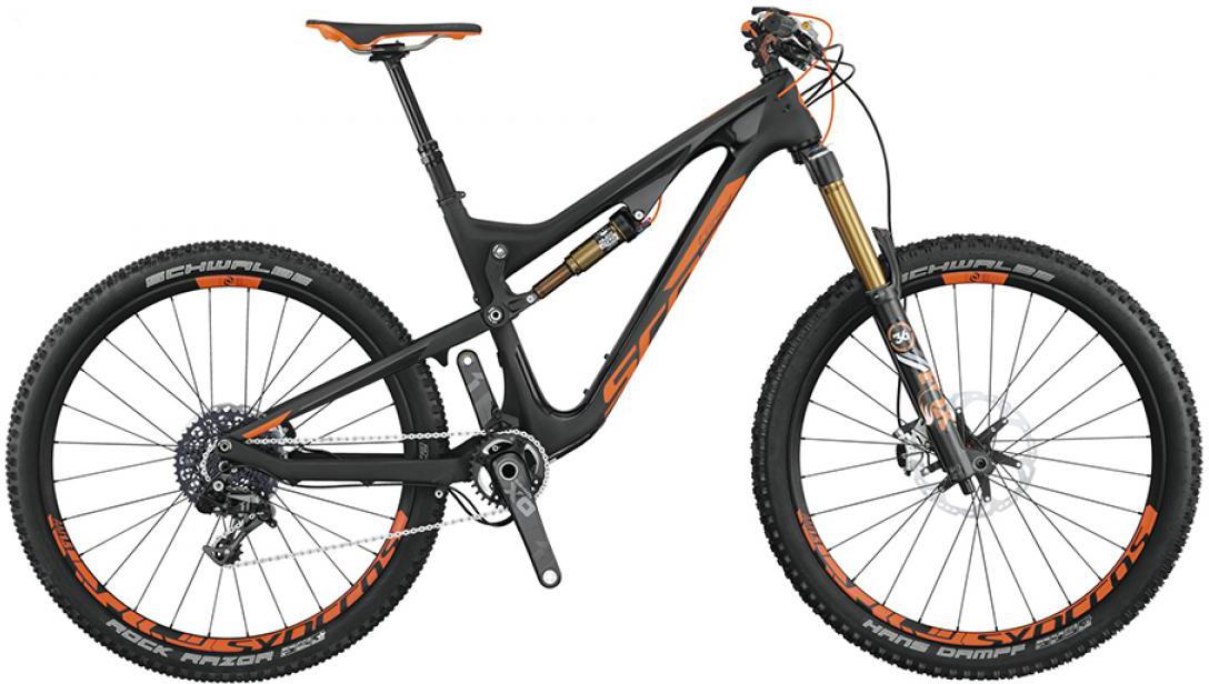 Велосипед горный Scott Genius LT 700 Tuned 2015, двухподвесный, цвет: черный, рама 18, колесо 27,5253428