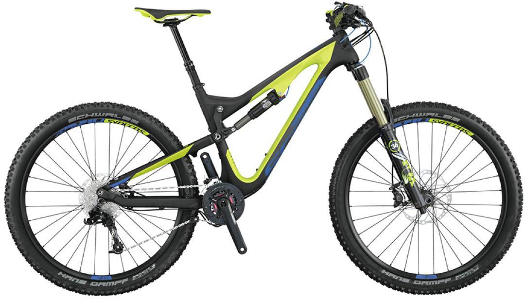Велосипед горный Scott Genius LT 710 2015, двухподвесный, цвет: черный, рама 20, колесо 27,5253432