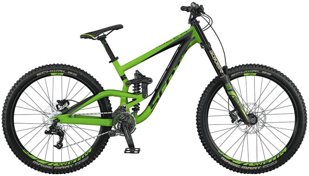 Велосипед горный Scott Gambler 730 2015, двухподвесный, цвет: зеленый, рама 16, колесо 27,5253442