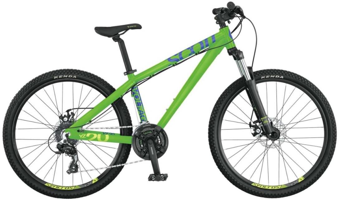 Велосипед трюковый Scott Voltage YZ 20 2015, цвет: зеленый, рама 22, колесо 26253464