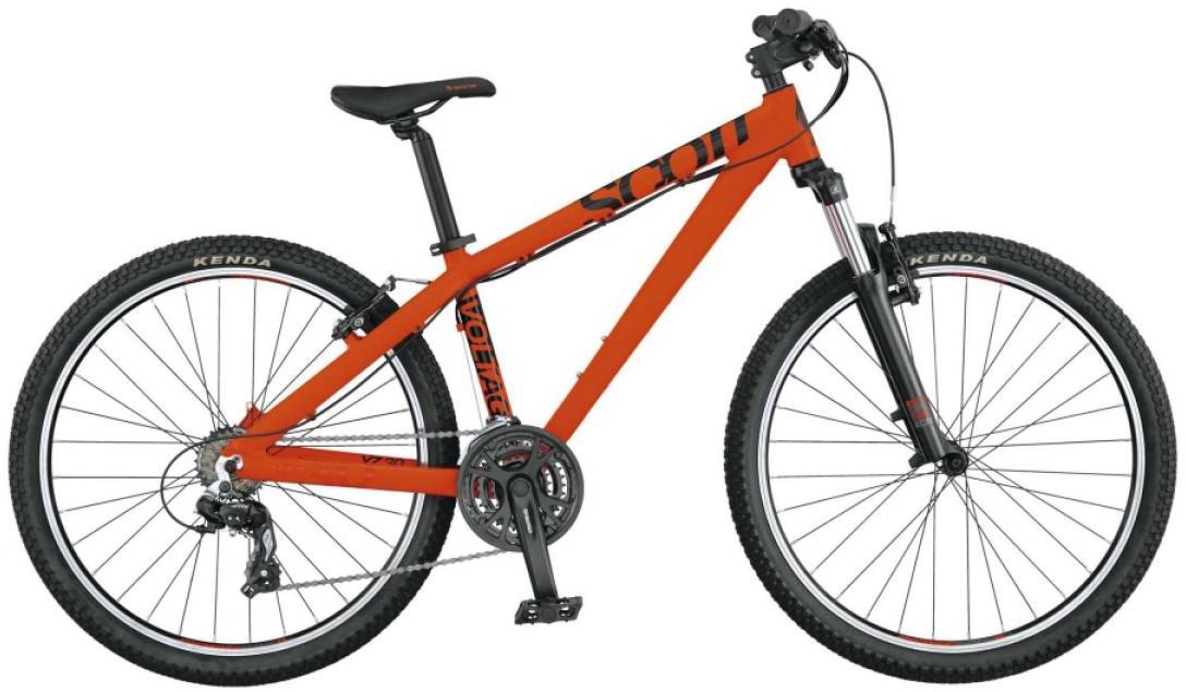 Велосипед трюковый Scott Voltage YZ 30 2015, цвет: оранжевый, рама 16, колесо 26. 253466253466