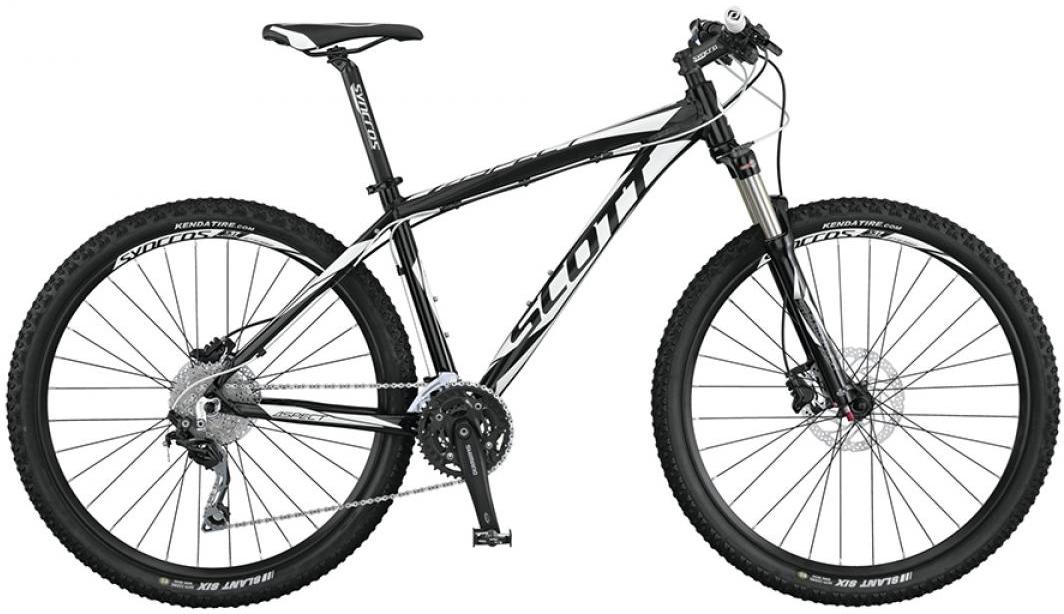 Велосипед горный Scott Aspect 720 2015, цвет: черный, рама 14,5, колесо 27,5253476