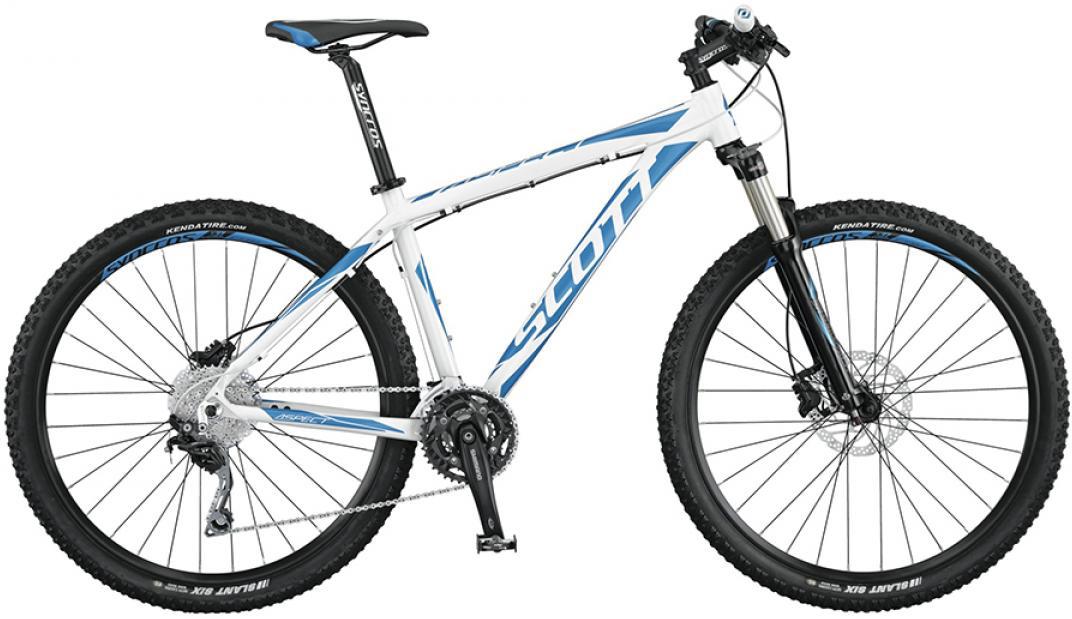 Велосипед горный Scott Aspect 720 2015, цвет: белый, рама 16, колесо 27,5253482
