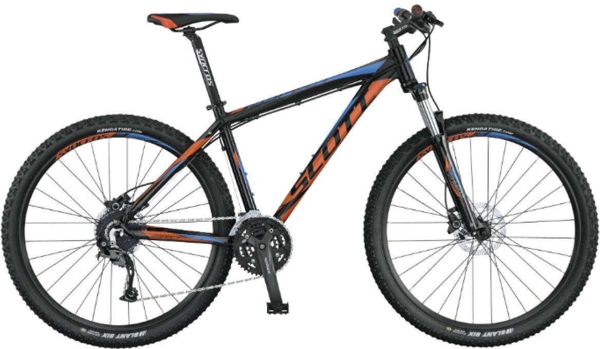 Велосипед горный Scott Aspect 740 2015, цвет: черный, рама 14,5, колесо 27,5253497