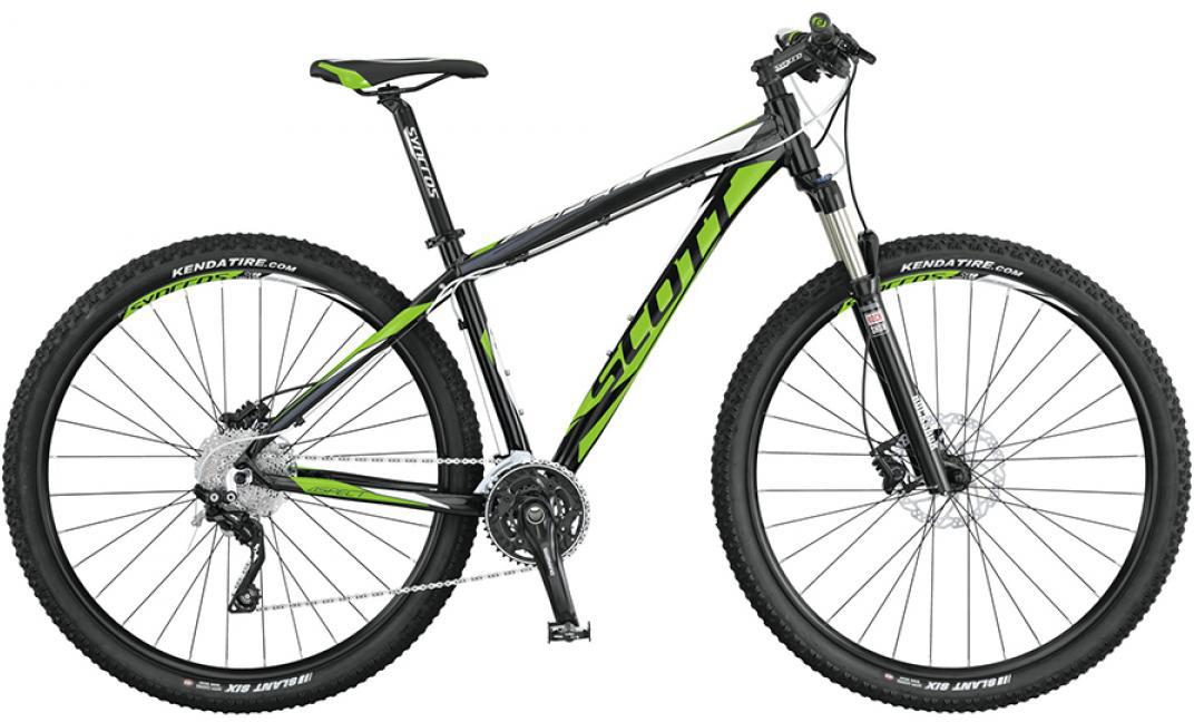 Велосипед горный Scott Aspect 910 2015, цвет: зеленый, рама 18, колесо 29253501