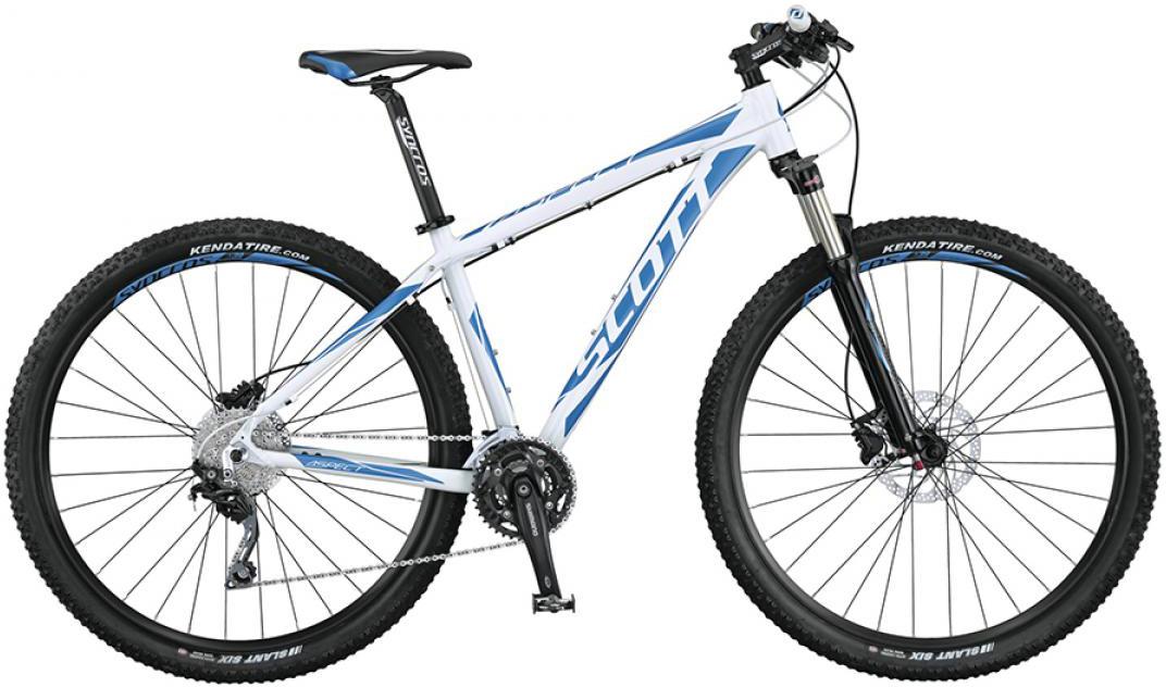 Велосипед горный Scott Aspect 920 2015, цвет: белый, рама 24, колесо 29253514