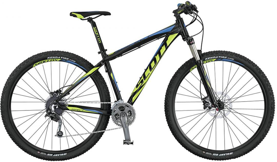 Велосипед горный Scott Aspect 930 2015, цвет: зеленый, рама 22, колесо 29253521