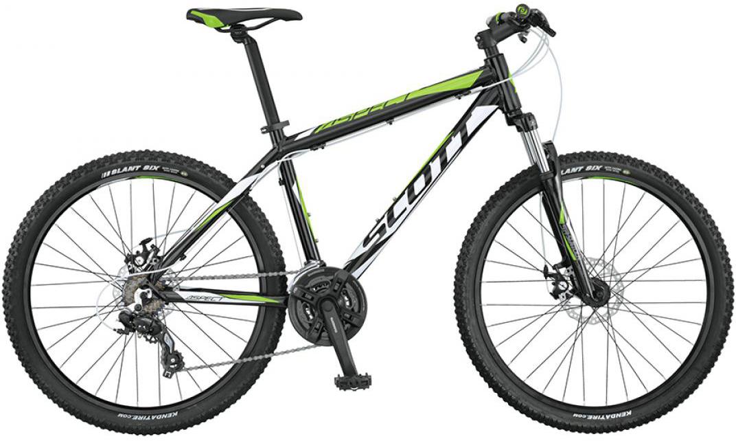 Велосипед горный Scott Aspect 670 2015, цвет: черный, рама 20, колесо 26253540