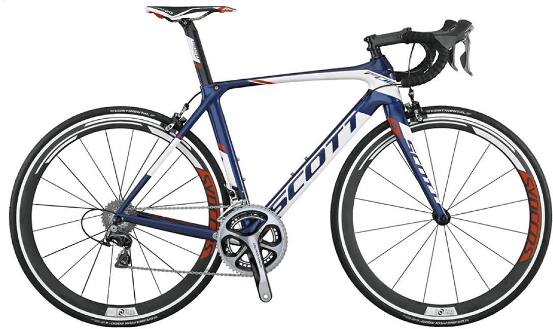 Велосипед шоссейный Scott Foil Team Issue 2015, цвет: белый, рама 16, колесо 28253567