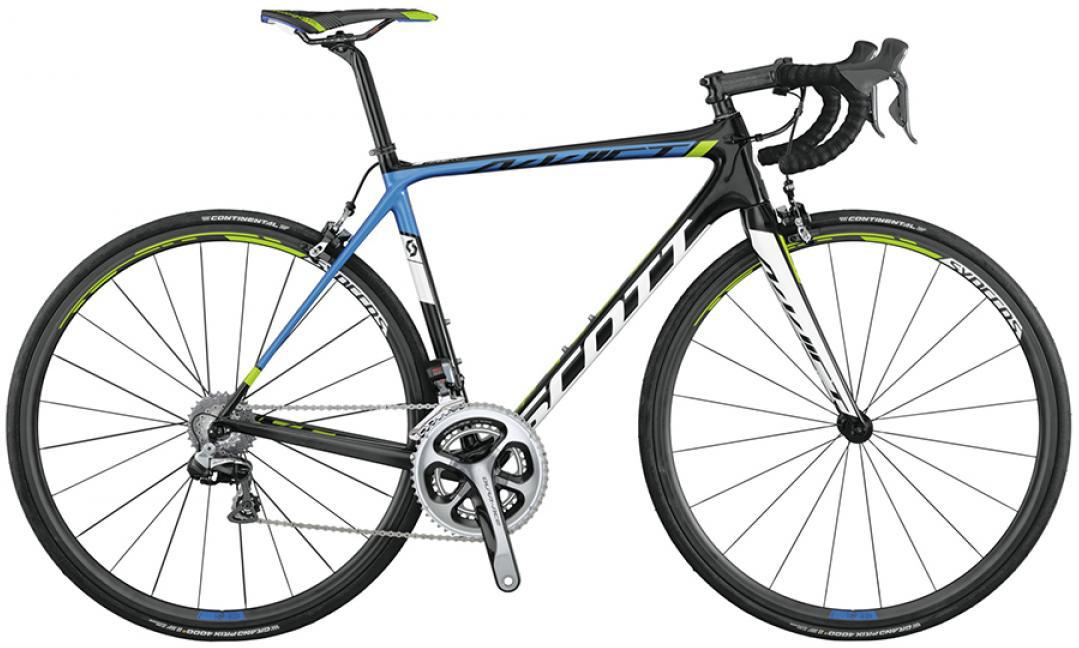 Велосипед шоссейный Scott Addict Team Issue Di2 2015, цвет: черный, рама 24, колесо 28253592