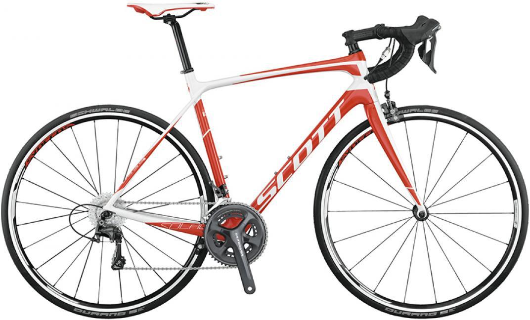 Велосипед шоссейный Scott Solace 20 2015, цвет: белый, рама 24, колесо 28253641