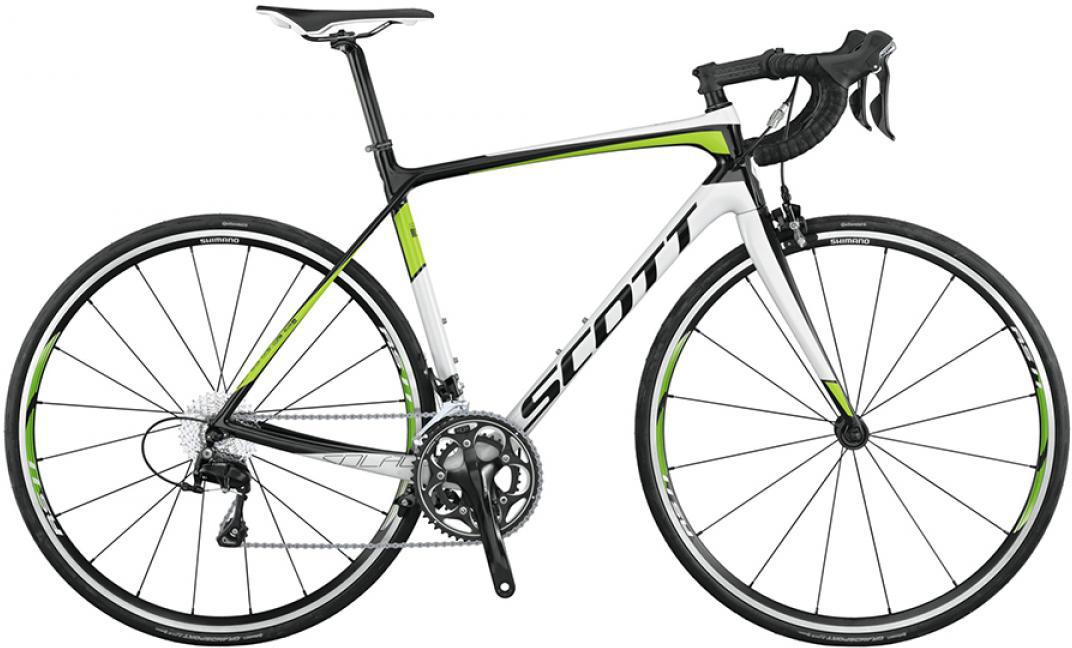 Велосипед шоссейный Scott Solace 30 2015, цвет: белый, рама 14,5, колесо 28253643