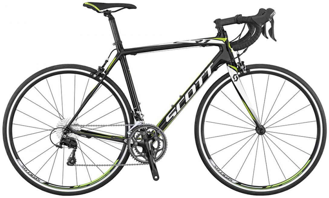 Велосипед шоссейный Scott CR1 20 2015, цвет: черный, рама 18, колесо 28253673