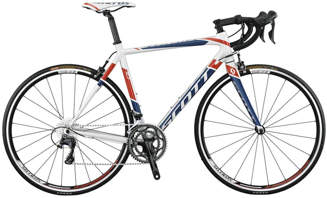 Велосипед шоссейный Scott Speedster 10 2015, цвет: белый, рама 18, колесо 28253686