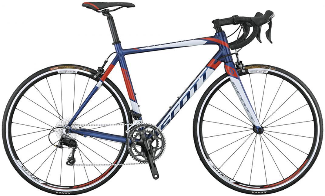 Велосипед шоссейный Scott Speedster 20 2015, цвет: белый, рама 16, колесо 28253690