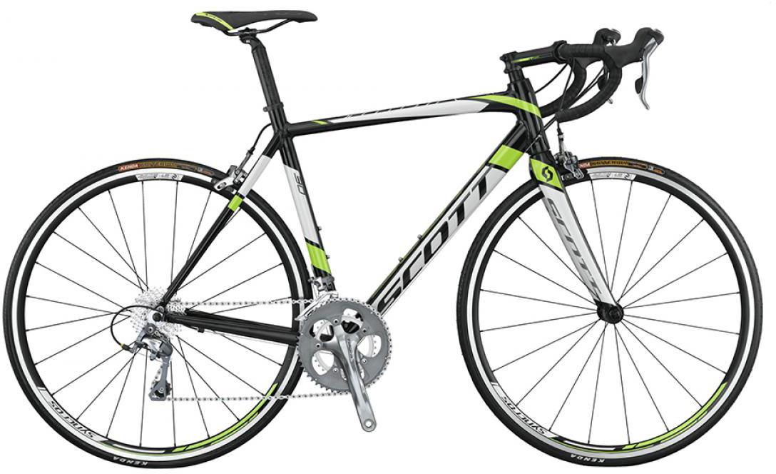 Велосипед шоссейный Scott Speedster 30 2015, цвет: белый, рама 22, колесо 28253703