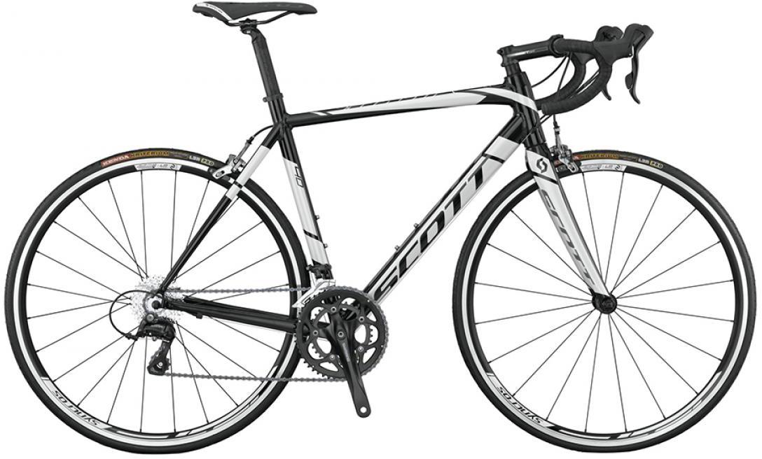 Велосипед шоссейный Scott Speedster 40 18-Speed 2015, цвет: черный, рама 16, колесо 28253710