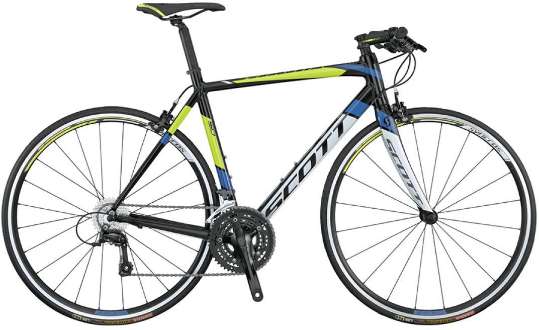 Велосипед шоссейный Scott Speedster 50 FB 2015, цвет: черный, рама 22, колесо 28253721