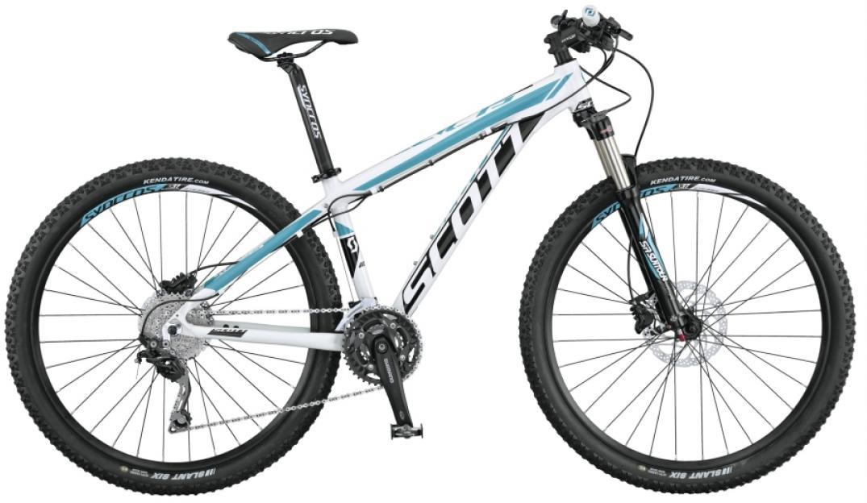Велосипед женский Scott Contessa Scale 720 2015, цвет: белый, рама 14,5, колесо 27,5253729