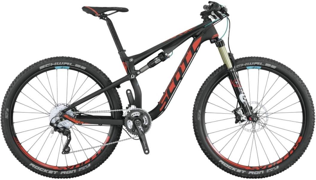 Велосипед женский Scott Contessa Spark 700 RC 2015, двухподвесный, цвет: черный, рама 18, колесо 27,5253735