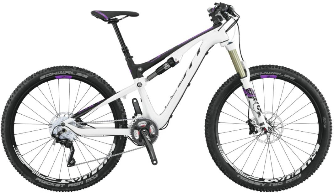 Велосипед женский Scott Contessa Genius 700 2015, цвет: белый, рама 20, колесо 27,5253742