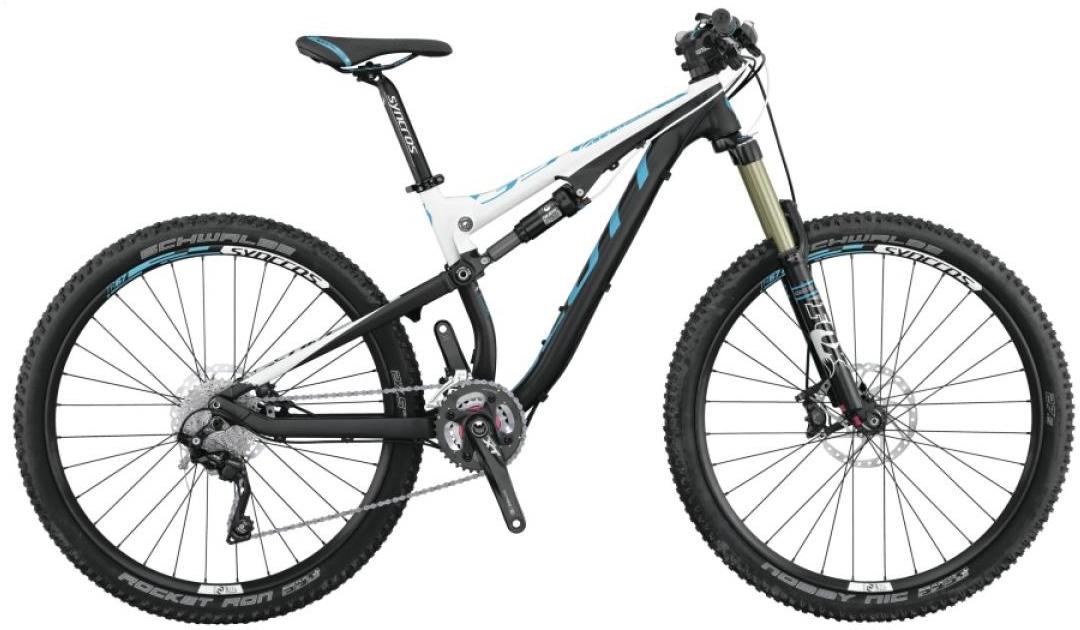 Велосипед женский Scott Contessa Genius 710 2015, цвет: черный, рама 16, колесо 27,5253743