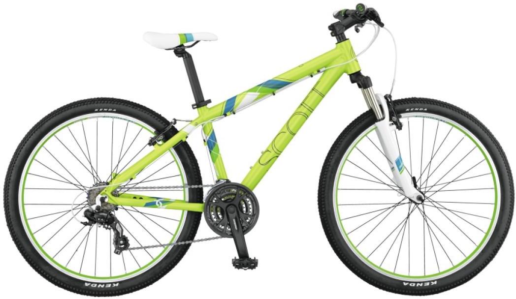 Велосипед женский Scott Contessa 640 2015, цвет: зеленый, рама 14,5, колесо 26253752