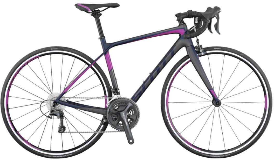 Велосипед шоссейный Scott Contessa Solace 15 2015, цвет: серый, рама 16, колесо 28253761