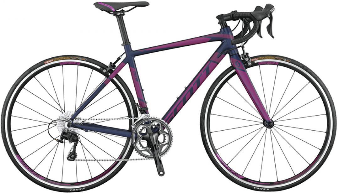 Велосипед шоссейный Scott Contessa Speedster 15 2015, цвет: черный, рама 14,5, колесо 28253775