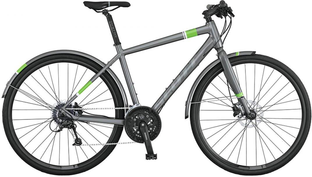Велосипед городской Scott Sub Speed 20 2015, цвет: серый, рама 22, колесо 28253803
