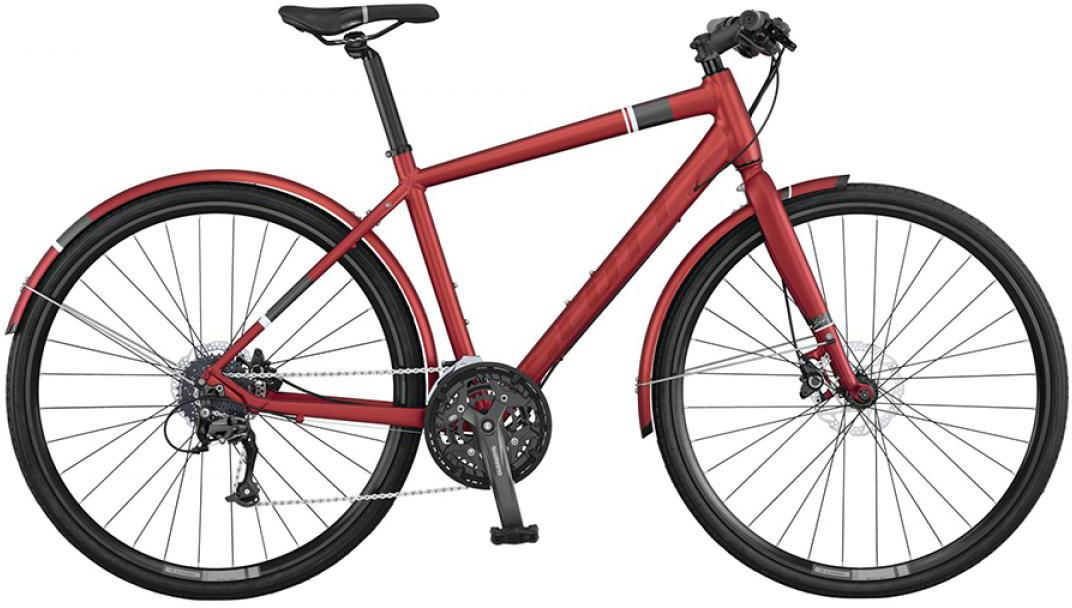 Велосипед городской Scott Sub Speed 30 2015, цвет: красный, рама 16, колесо 28253805