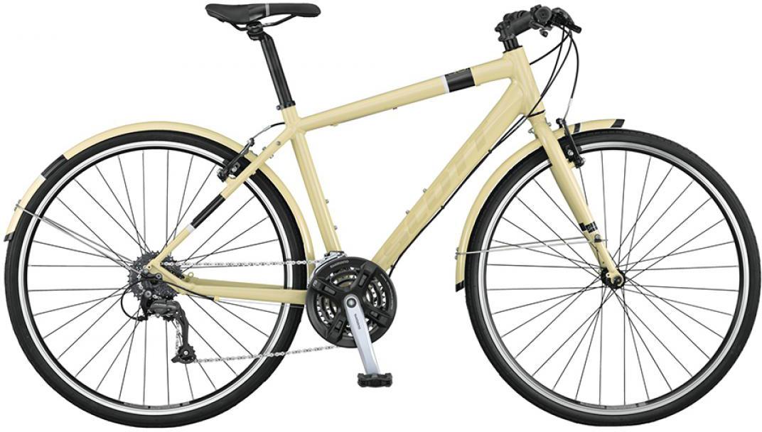 Велосипед городской Scott Sub Speed 40 2015, цвет: белый, рама 20, колесо 28253812