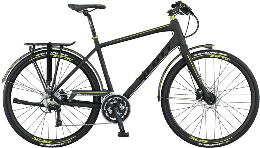 Велосипед городской Scott Sub Evo 20 2015, цвет: черный, рама 18, колесо 28253819