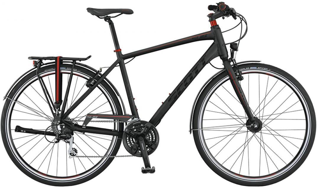 Велосипед городской Scott Sub Evo 40 2015, цвет: черный, рама 18, колесо 28253827