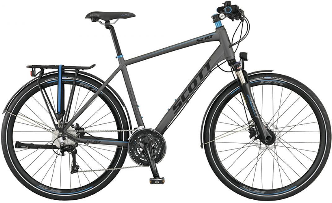 Велосипед городской Scott Sub Sport 10 Men 2015, цвет: серый, рама 18, колесо 28253831