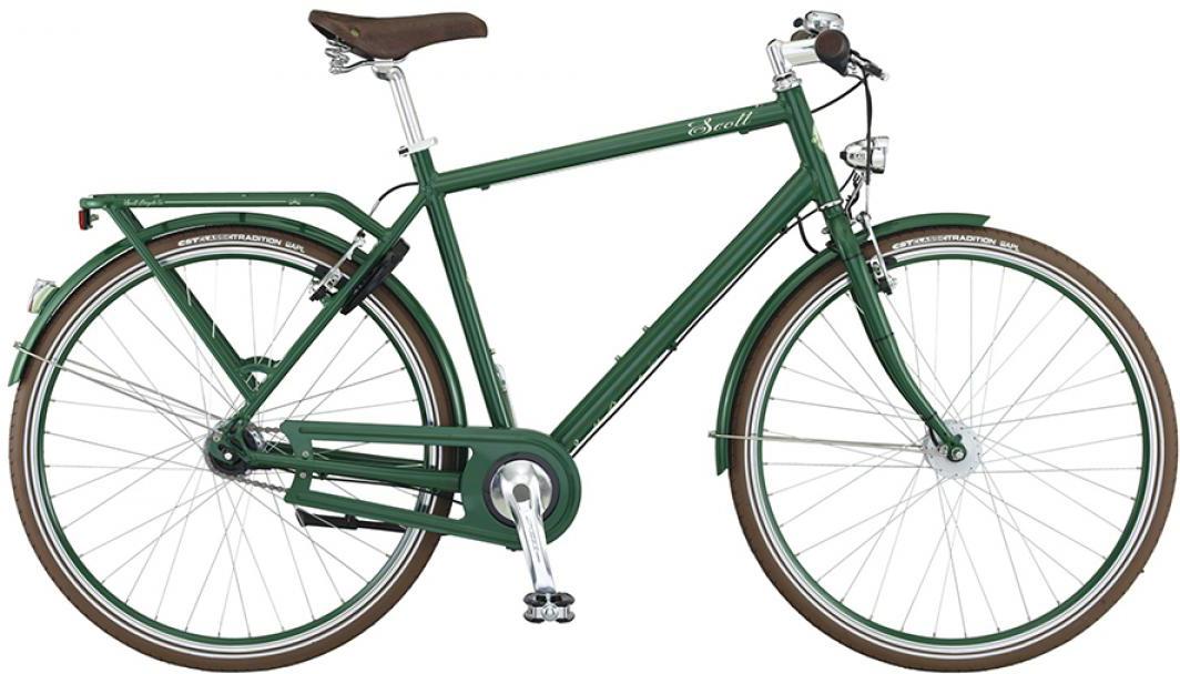 Велосипед городской Scott Sub Retro Men 2015, цвет: зеленый, рама 16, колесо 28253834