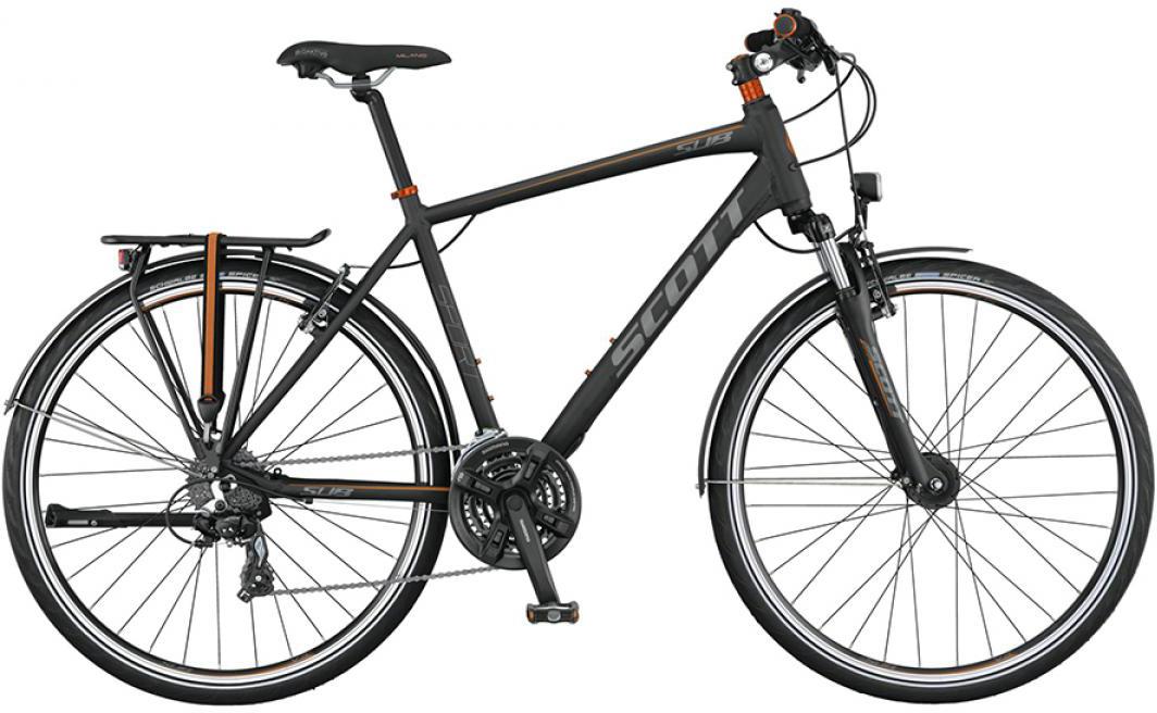 Велосипед городской Scott Sub Sport 30 Men 2015, цвет: черный, рама 20, колесо 28253843