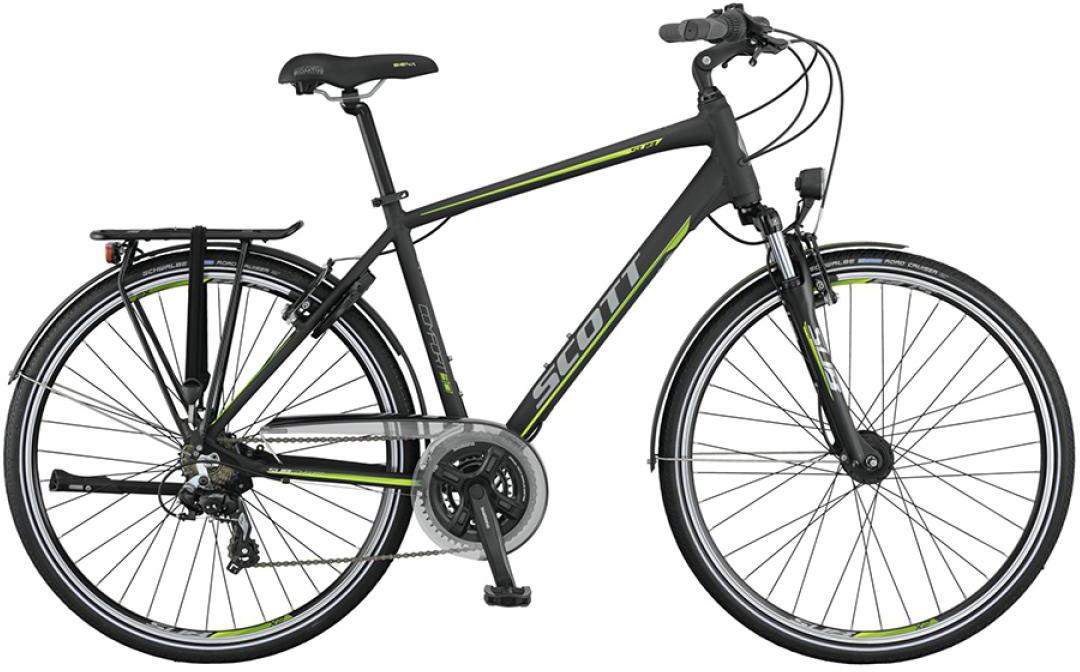 Велосипед городской Scott Sub Comfort 30 Men 2015, цвет: черный, рама 18, колесо 28253854