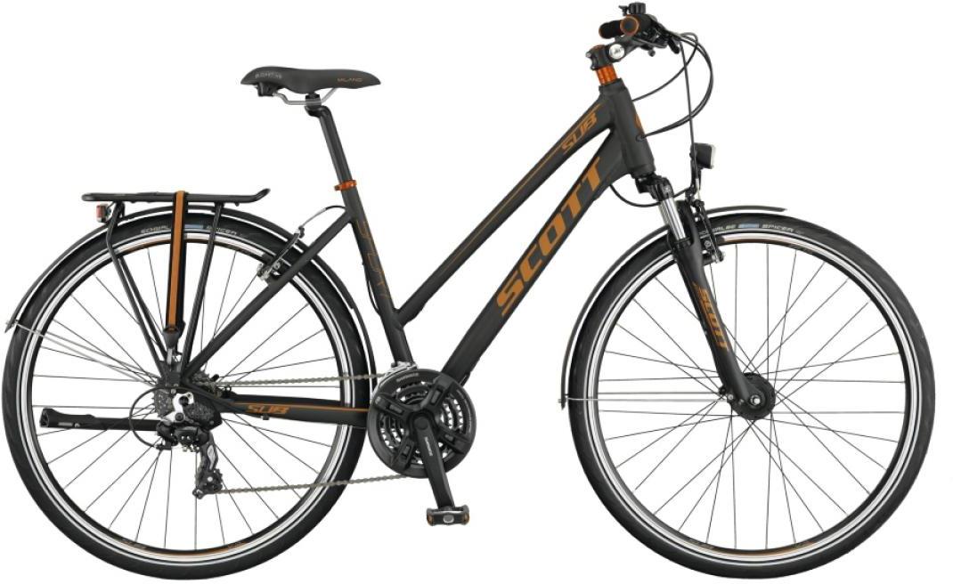 Велосипед городской Scott Sub Sport 30 Lady 2015, цвет: черный, рама 18, колесо 28253894