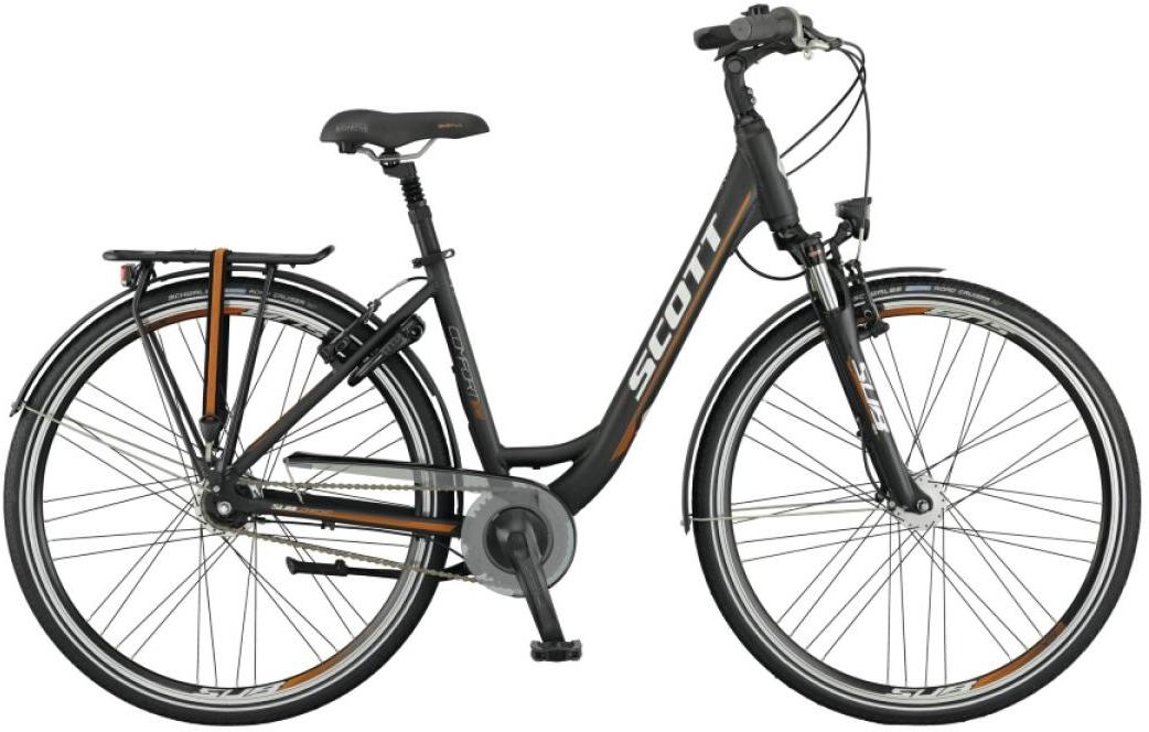 Велосипед городской Scott Sub Comfort 10 Lady 2015, цвет: черный, рама 16, колесо 28253896
