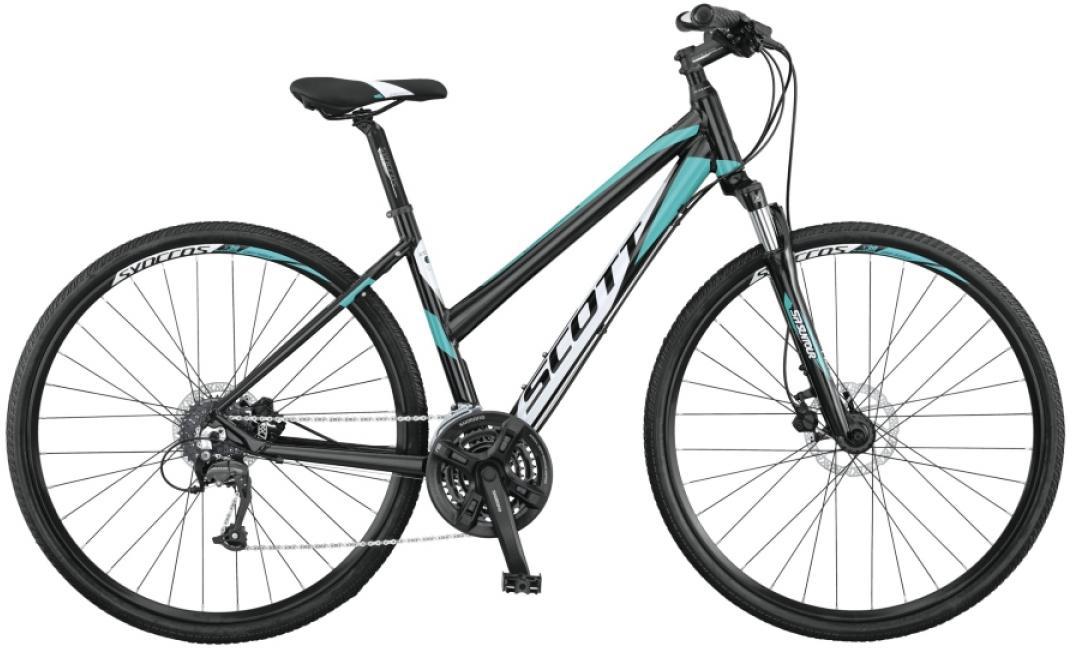 Велосипед городской Scott Sportster 50 Lady 2015, цвет: черный, рама 20, колесо 28253911