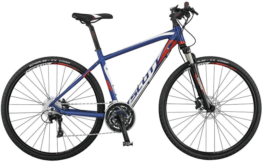 Велосипед городской Scott Sportster 10 2015, цвет: синий, рама 16, колесо 28253913
