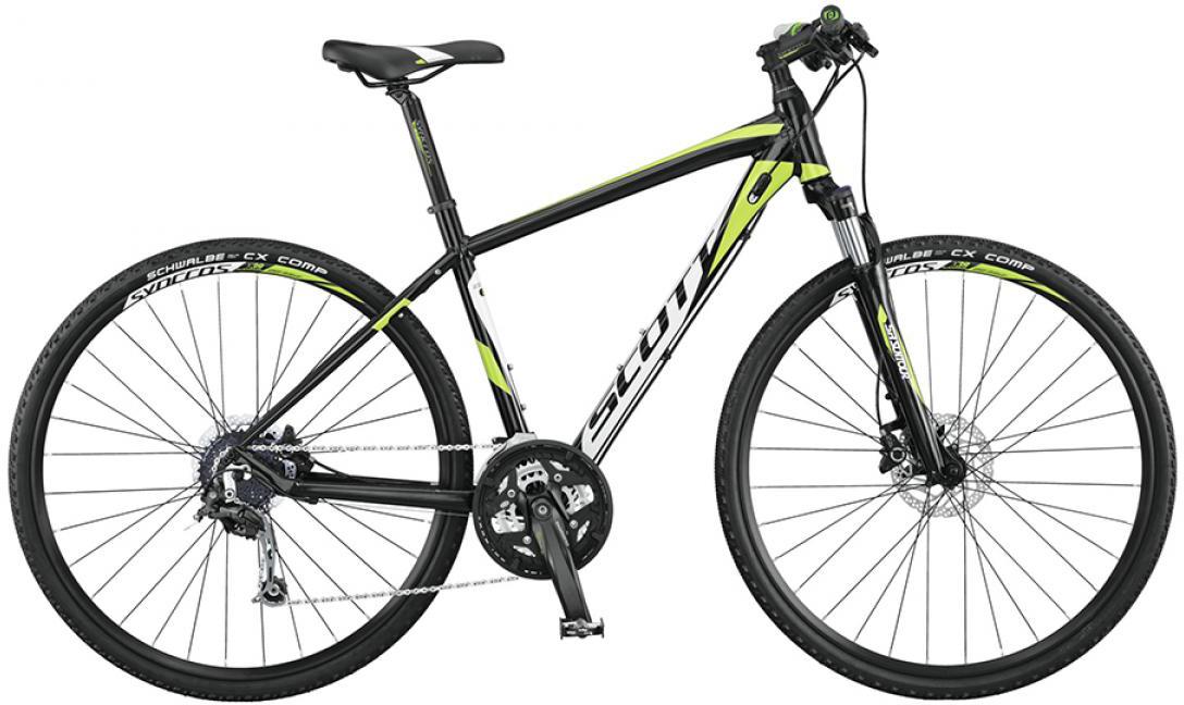 Велосипед городской Scott Sportster 30 Men 2015, цвет: черный, рама 24, колесо 28253927