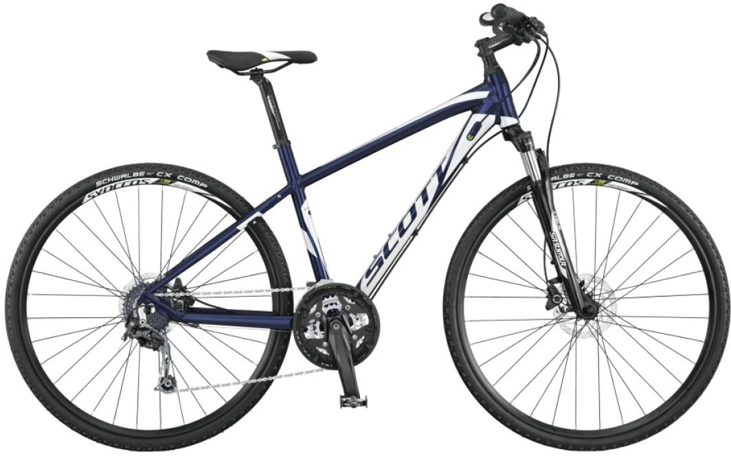 Велосипед городской Scott Sportster 30 Solution 2015, цвет: синий, рама 18, колесо 28253929