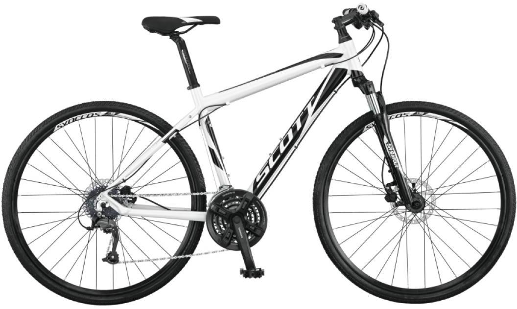 Велосипед городской Scott Sportster 50 Men 2015, цвет: белый, рама 22, колесо 28253940