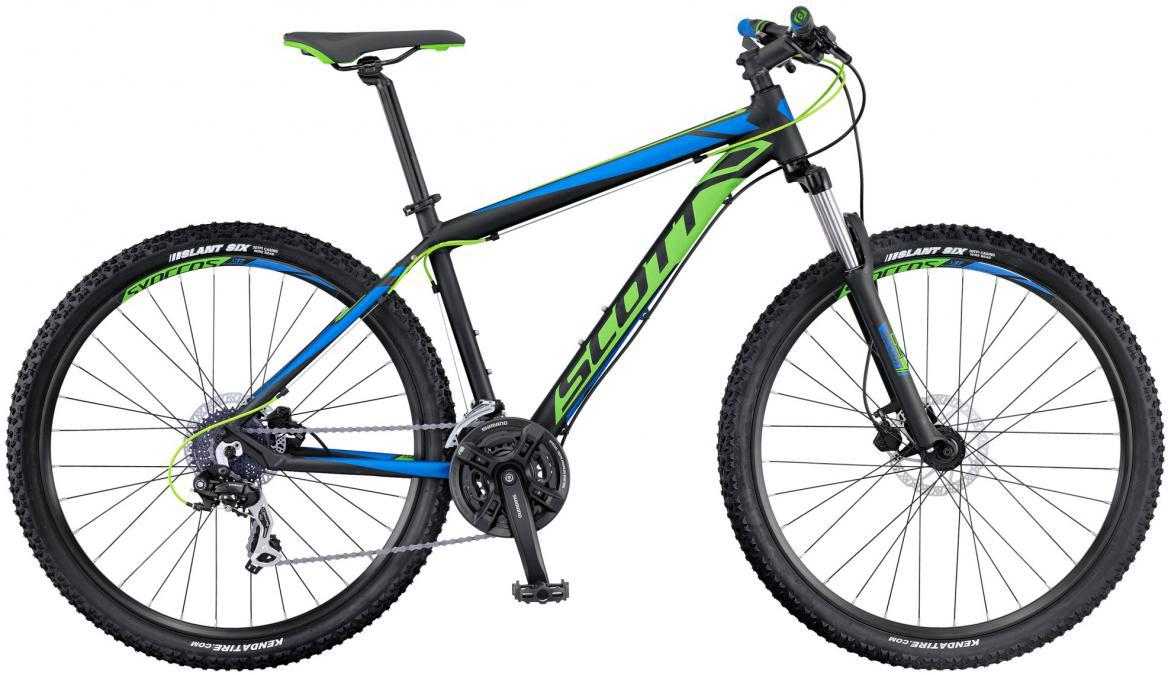 Велосипед горный Scott Aspect 760 2016, цвет: синий, рама 18, колесо 27,5264688