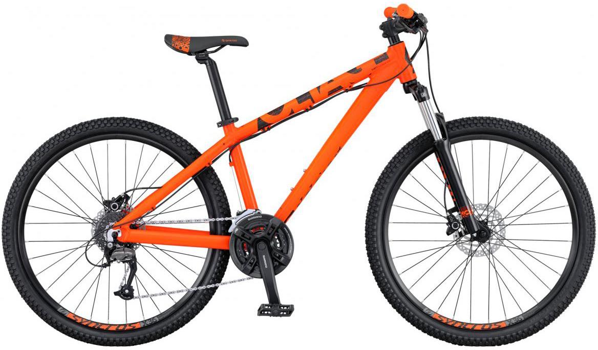 Велосипед трюковый Scott Voltage YZ 10 2016, цвет: оранжевый, рама 18, колесо 26264703